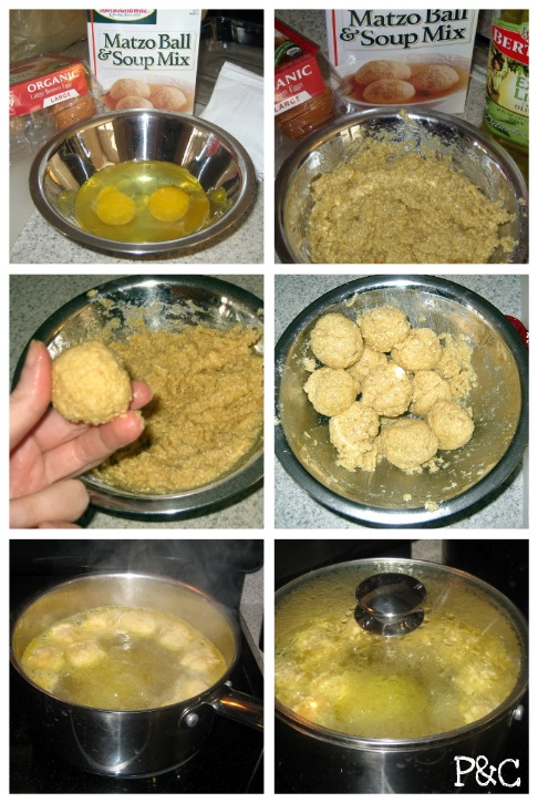 How To Make Matzo Balls - Step-by-Step Photos