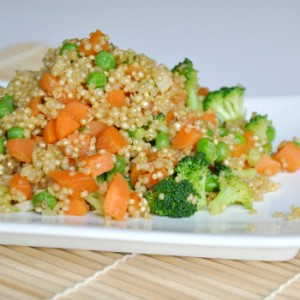 Healthy Quinoa Fried Rice