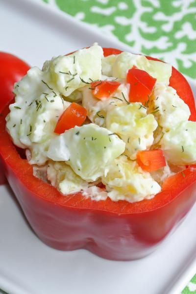 Easy Greek Potato Salad