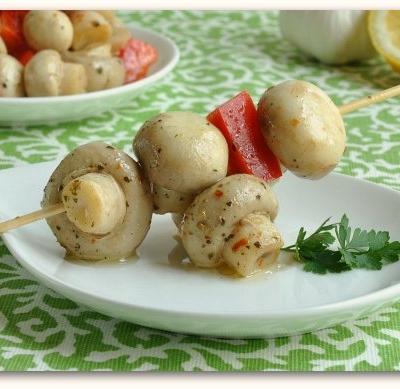 Homemade Marinated Mushrooms