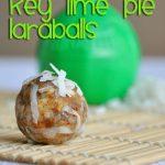 Homemade Key Lime Larabar Balls