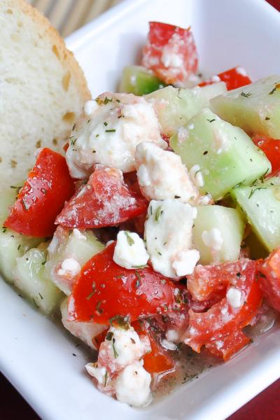 Garden Fresh Mediterranean Bruschetta