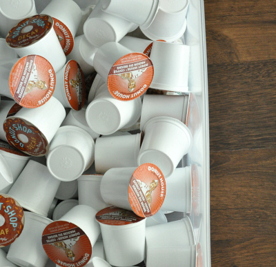 K Cup Drawer Organization