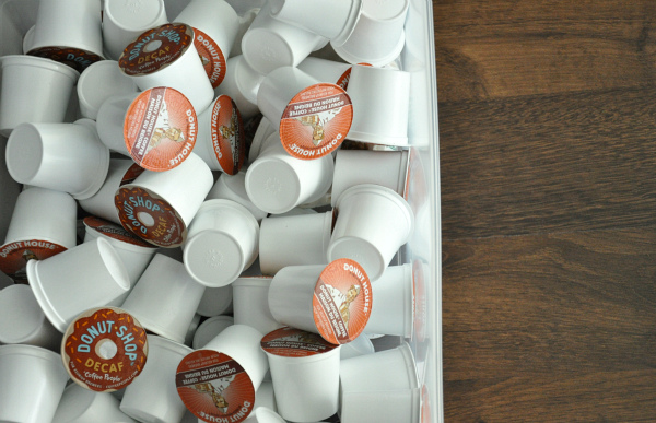 kcup coffee organization drawer