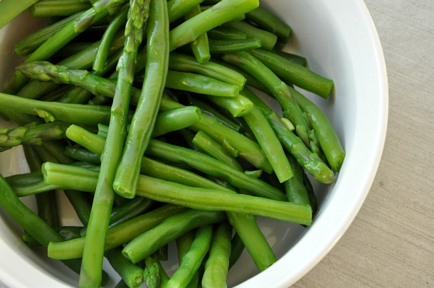 Green Beans and Asparagus