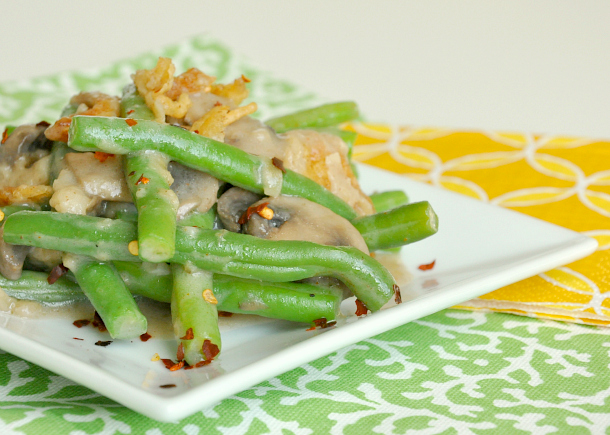 Vegetarian Green Bean Casserole Recipe