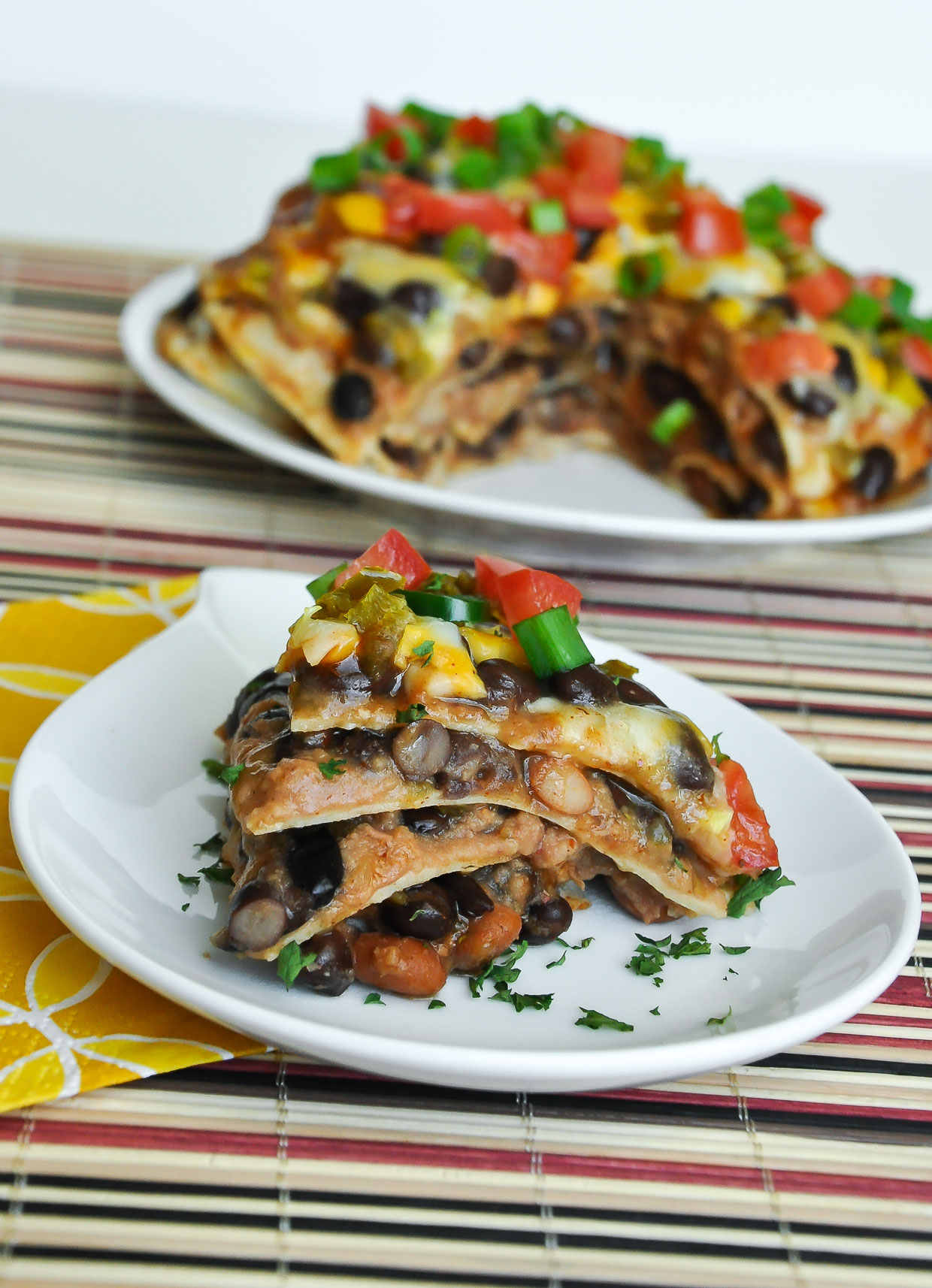 Mexican pizza lasagna vegetarian gluten free comfort food vegetarian mexican pizza lasagna recipe forumfinder Choice Image