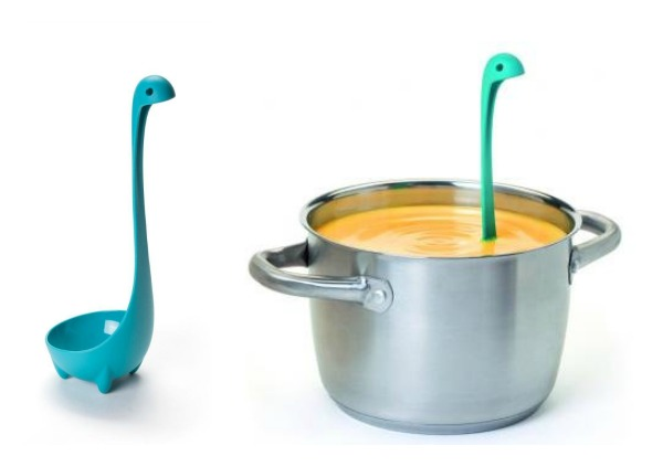 Nessie the Loch Ness Ladle :: I love this super-cute gift idea for foodies!
