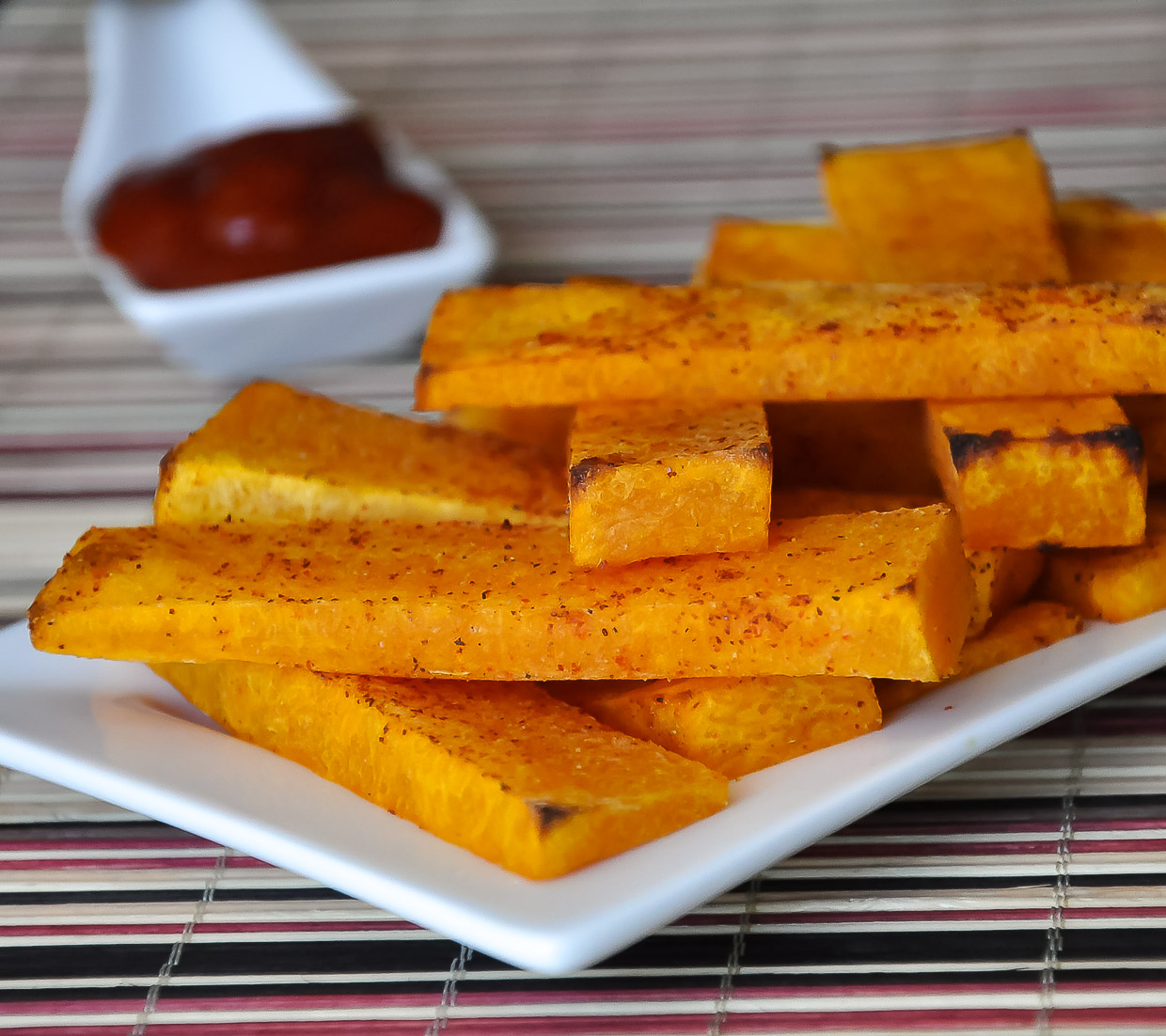How to make butternut squash fries