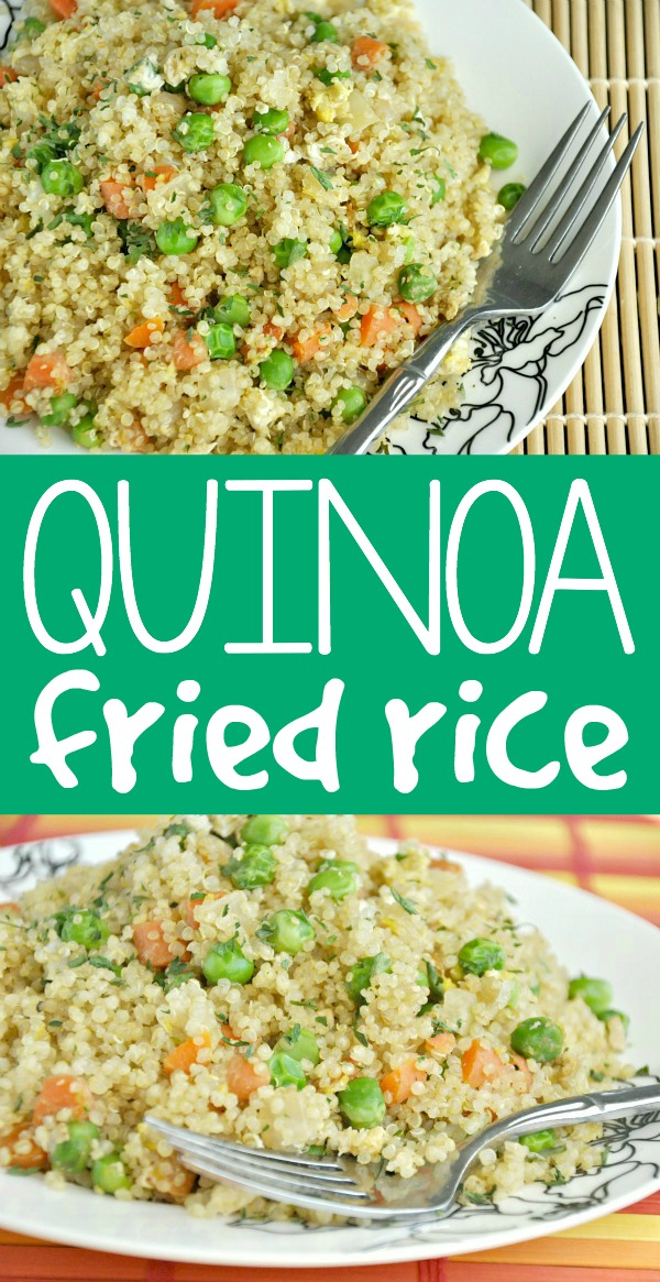 a restaurant fried rice copycat with a healthy twist!