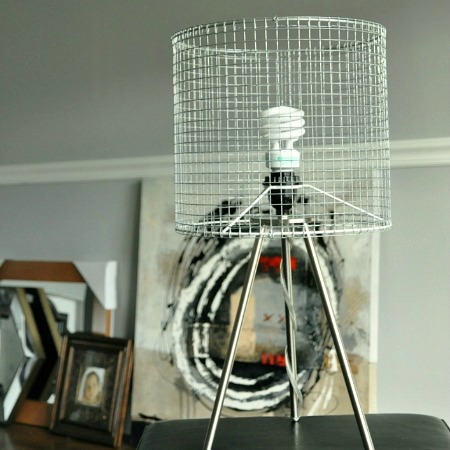 Diy Wire Lampshade, Wire Mesh Lamp Shade