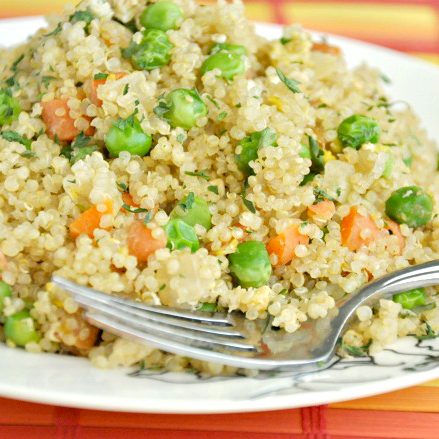 Healthy Quinoa Fried Rice + Tips on Making Perfectly Fluffy Quinoa