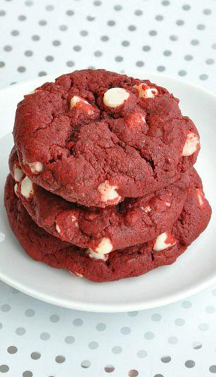 Red Velvet Cookies!