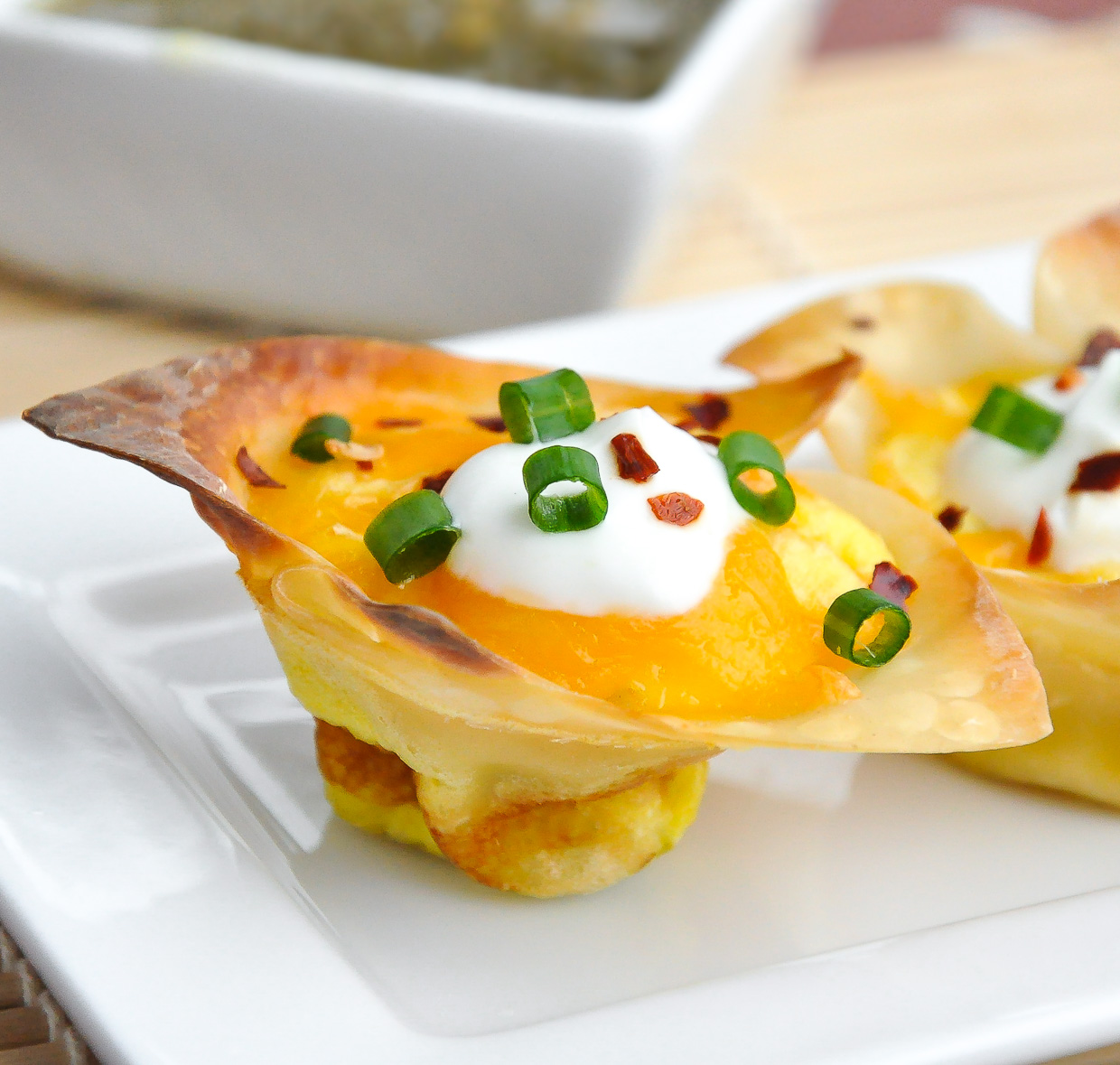 Jalapeño Popper Quiche Cups