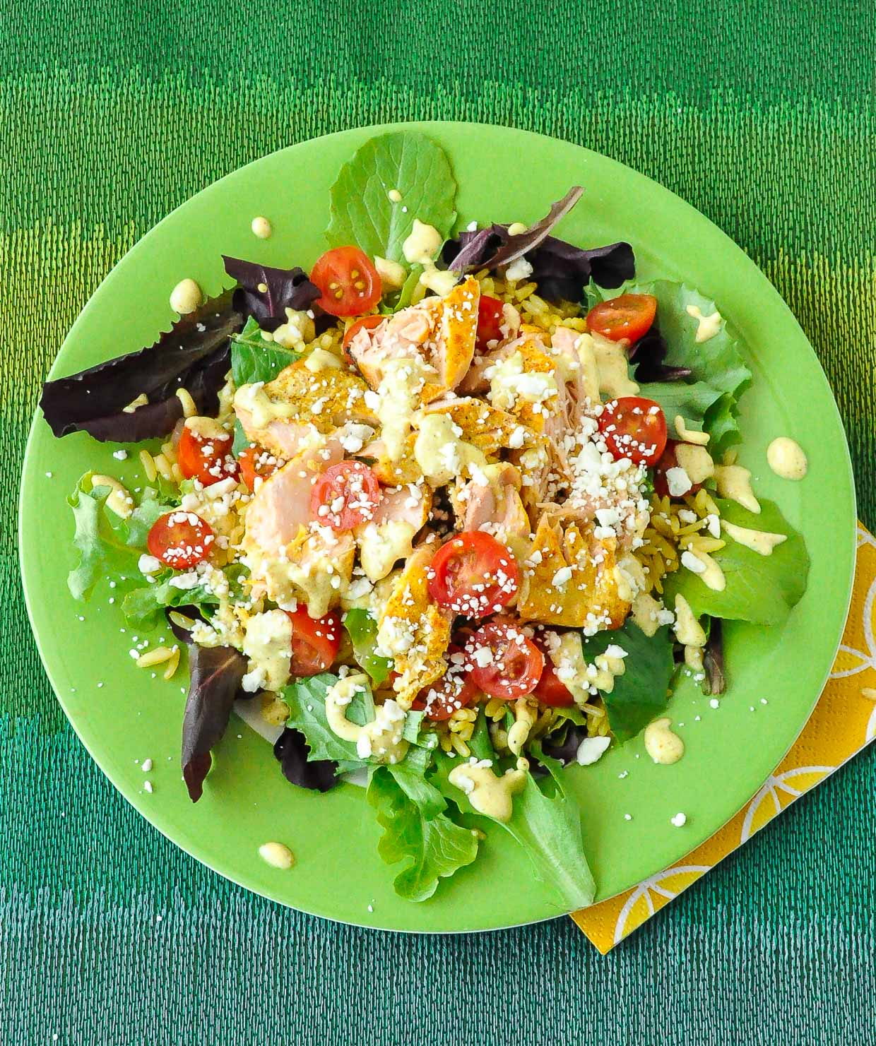 Easy Salmon Salad Rice Bowl Recipe