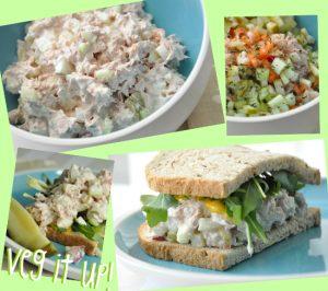 Veggie Loaded Tuna Salad