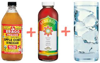 Apple Cider Vinegar Kombucha Mocktail Recipe