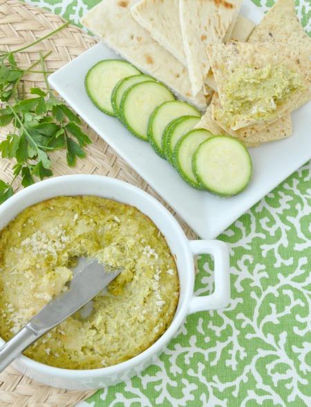 Cheesy Baked Asparagus Dip