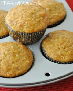 Gluten-Free Carrot Coconut Muffins