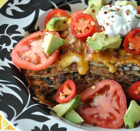 Mexican Pizza Lasagna Remix