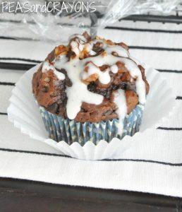 Chocolate Chocolate Chip Pumpkin Zucchini Brownie Bread