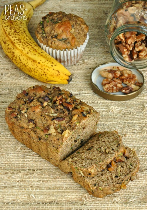Fluffy Fruit and Veggie Flax Bread