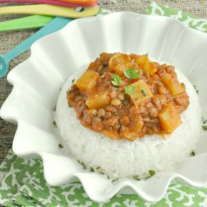 Madras Lentils... in the Crock-pot!