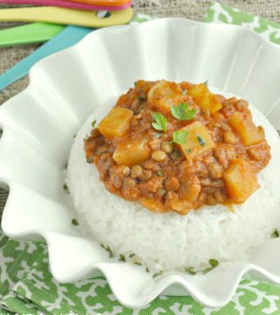 Madras Lentils... in the Crock-pot!