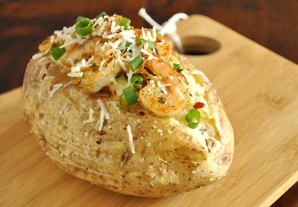 Parmesan Shrimp Twice Baked Potatoes Recipe Peas And Crayons