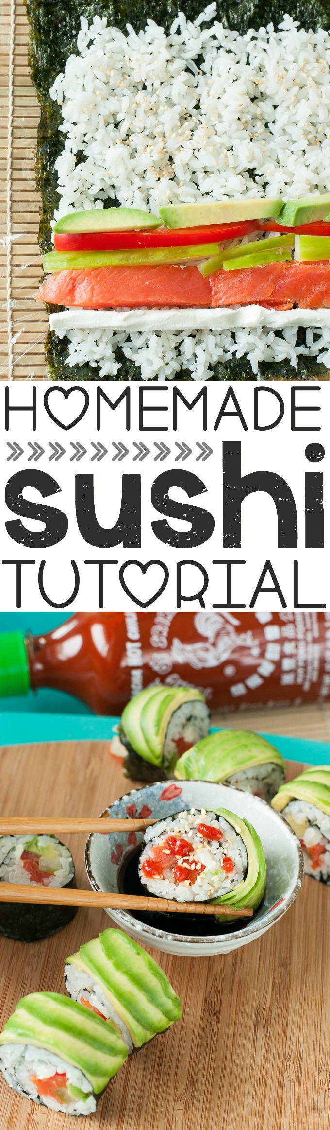 Easy recipes for sushi rolls