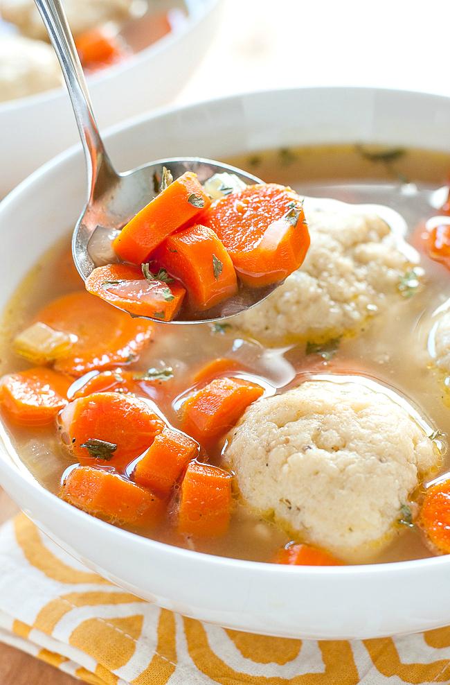 Homemade Matzo Ball Soup recipe