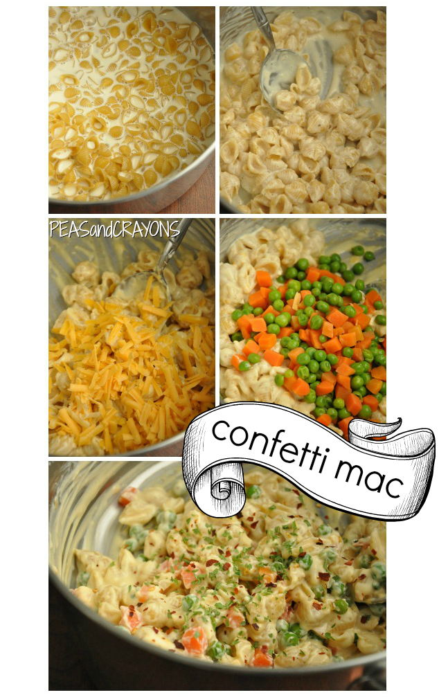 tips for creamy, cheesy mac and cheese - cook your pasta in the milk!