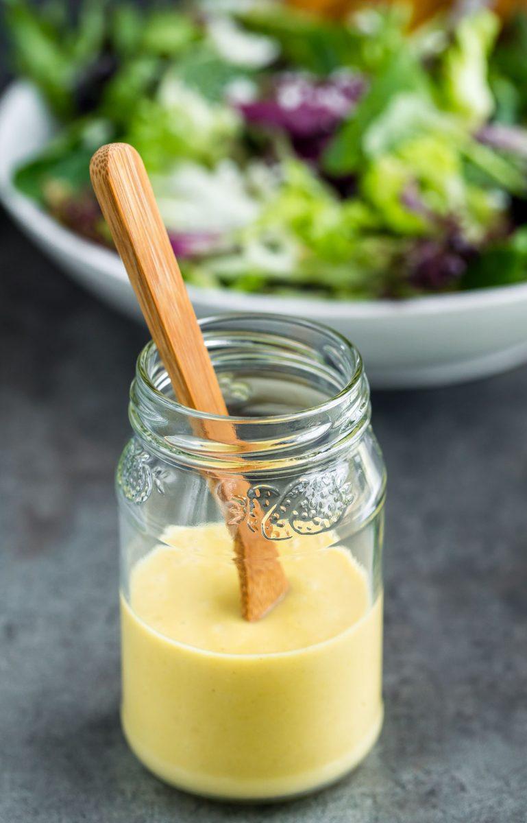 Homemade Honey Dijon Vinaigrette