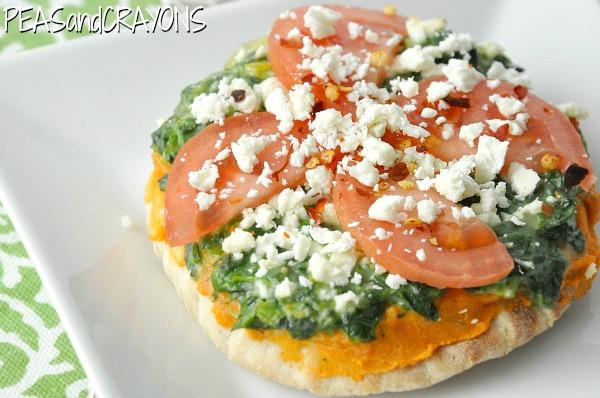 Whole Grain Mini Pita Pizzas