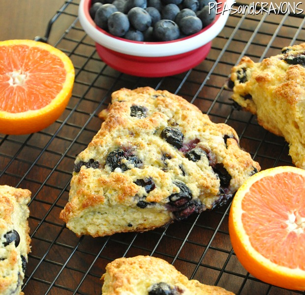 Blueberry Orange Scones