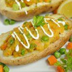 Sweet Potato Samosa Potatoes