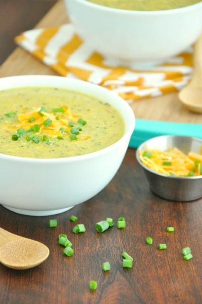 Creamy Curry Broccoli Cheese Soup