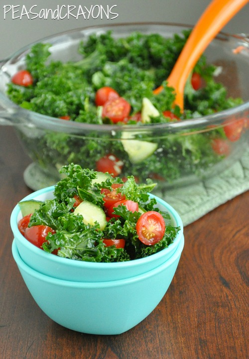 Garlicky Massaged Kale Salad