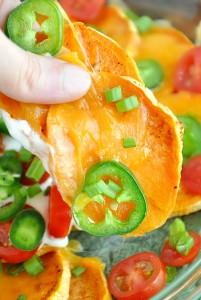 Sweet Potato Irish Nachos :: prepare to fall in love!