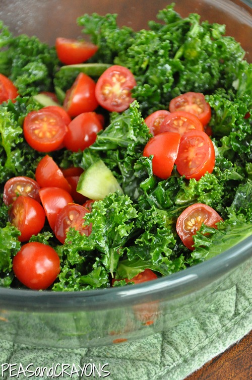 Garlicky Massaged Kale Salad Recipe