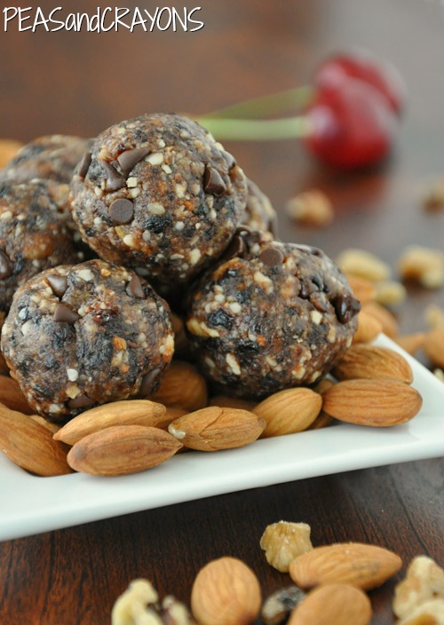Chocolate Cherry Energy Balls Recipe