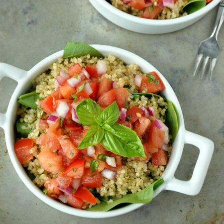 Bruschetta Quinoa Salad
