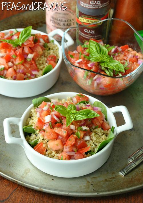 Bruschetta Quinoa Salad Recipe