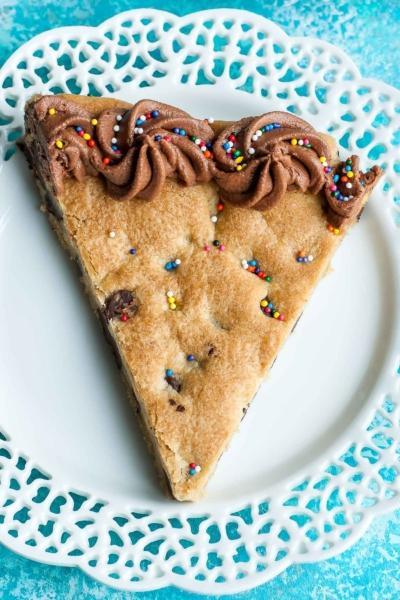 Homemade Cookie Cake Recipe