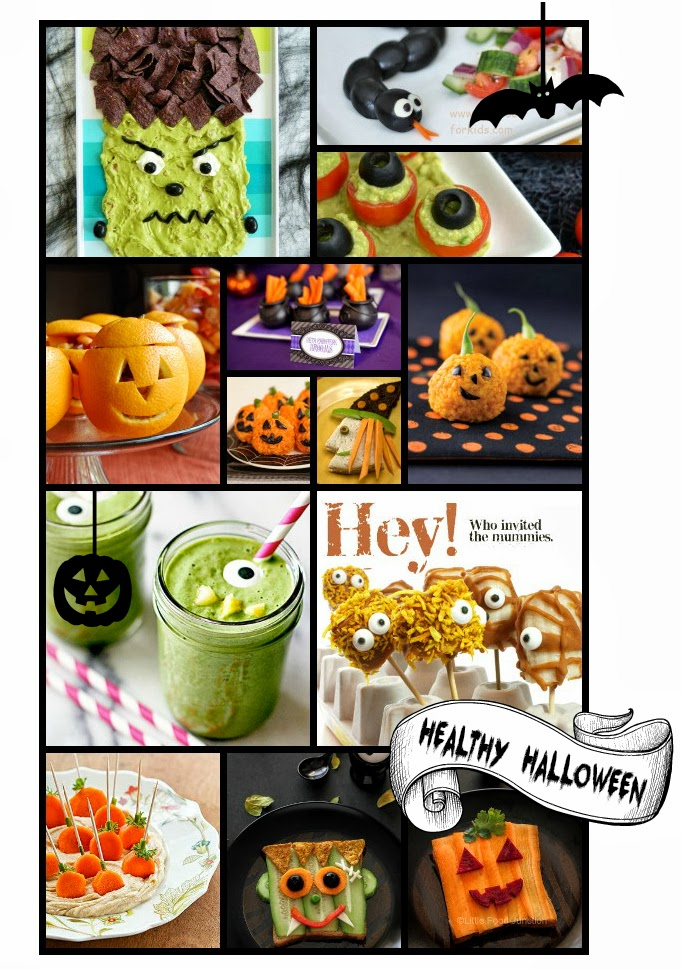 healthy halloween treats recipes