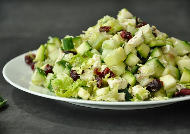 Shredded Brussels Sprout Salad Recipe