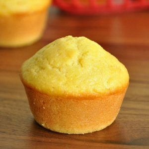 Fluffy Bakery-Style Cornbread Muffins