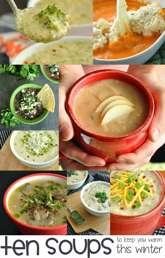 10 soups to keep you warm this winter!