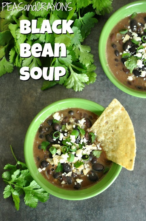 Black Bean Soup... in the crockpot!