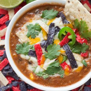 The recipe that launched 1000 requests :: Slow Cooker Chicken Tortilla Soup